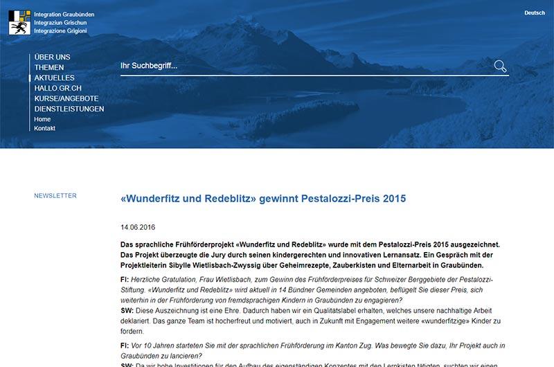Integration Graubünden